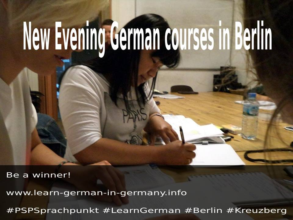 Start Dates - German Evening Courses in Berlin