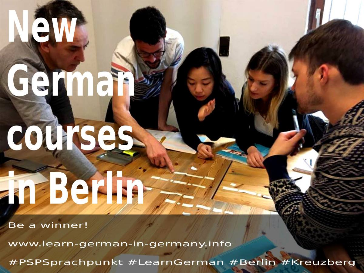 Start Dates - German Intensive Courses in Berlin